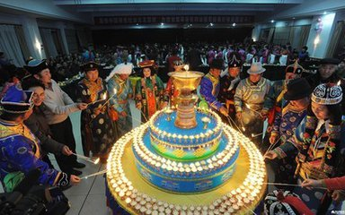 蒙古族元宵节